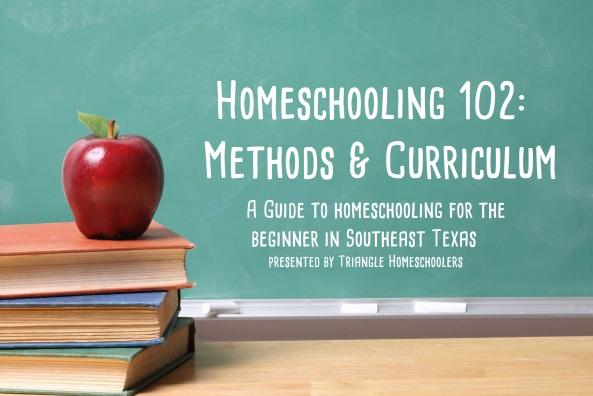 homeschooling 102