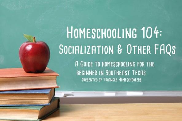 homeschooling 104